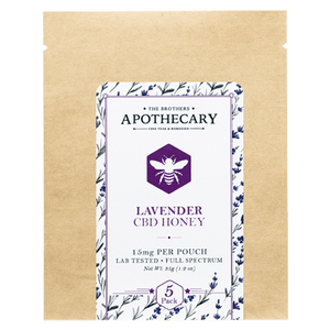 the brothers bros apothecary cbd lavender honey allaybox cbd subscription box boutique