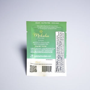 Moksha CBD Chocolate Matcha Square AllayBox cbd subscription box boutique