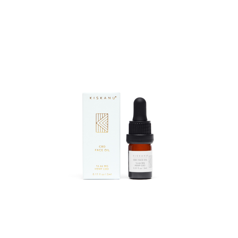 Kiskanu CBD Face Oil