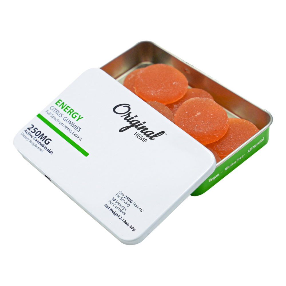 Original Hemp Energy Gummies