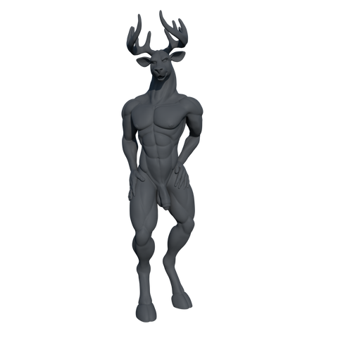 [Digital] NSFW Stag 01 [STL]