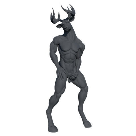[Digital] NSFW Stag 04 [STL]