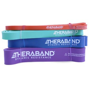 HYGENIC/THERA-BAND HIGH RESISTANCE BANDS