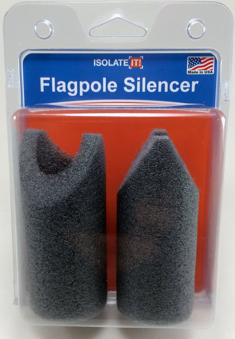 Flagpole Silencer