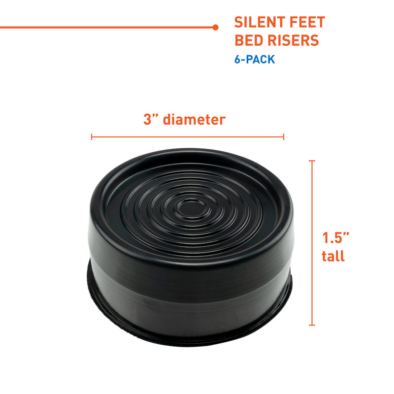 Silent Feet for bed dimensions