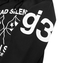Load image into Gallery viewer, Dead Silent Black Pullover