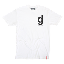 Load image into Gallery viewer, Material Control Back Cover White T-Shirt