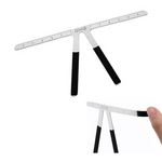 Metal Eyebrow Balance Ruler