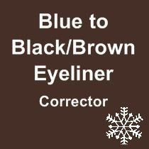 CORRECTIONAL - Blue to Black/ Brown Eyeliner Corrector