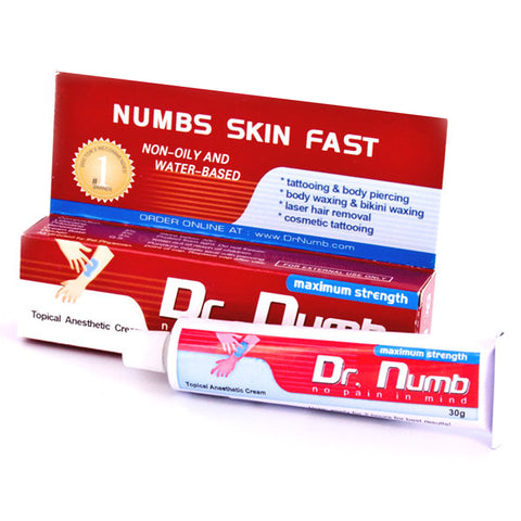 Dr. Numb | Maximum strength - Topical Anesthetic Cream