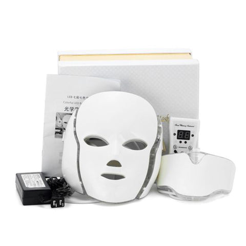 LED Photodynamic Beauty Mask for Face Neck Ear