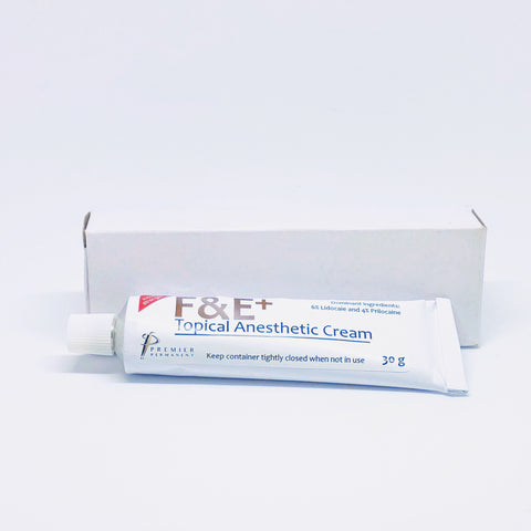 F&E Plus Topical Anesthetic Cream Gel 30 g