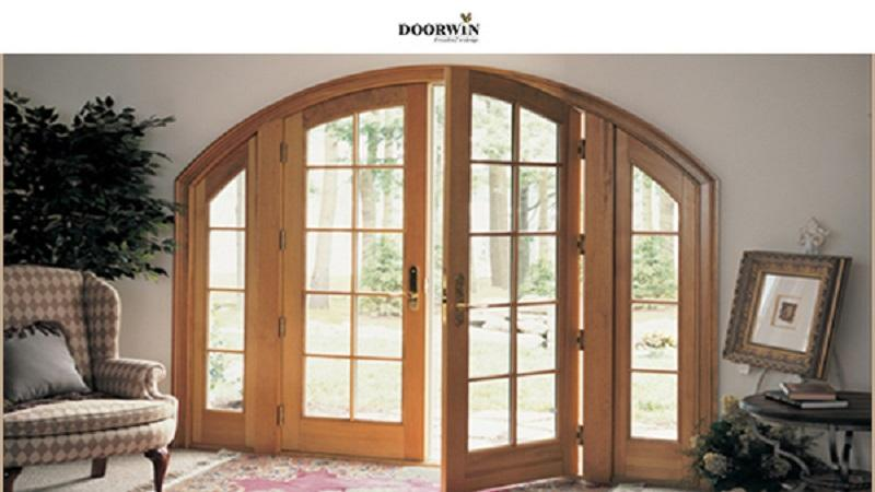 Doorwin Arch Wood French Doors