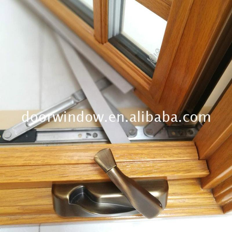 Doorwin 2021Buy from china cheap toughened glass wooden window