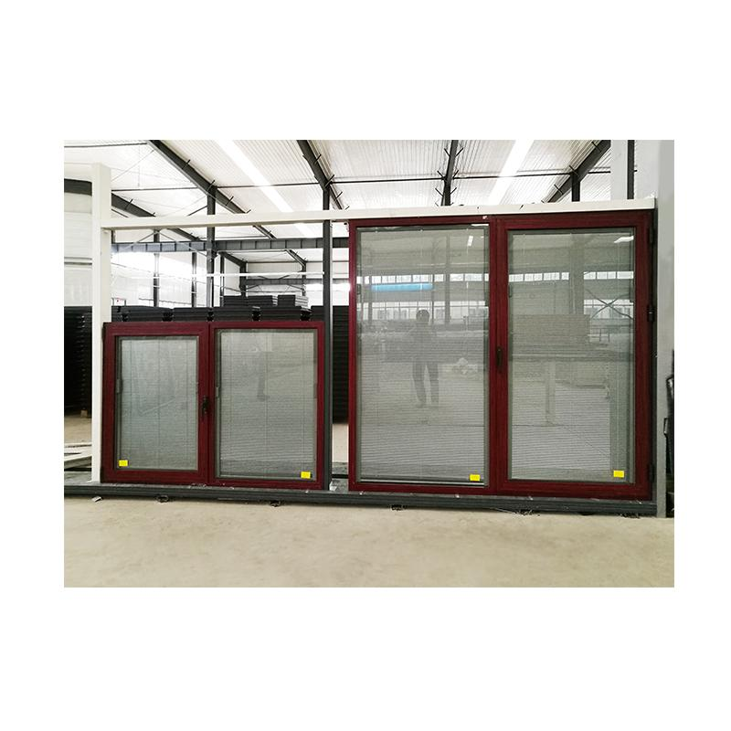 DOORWIN 2021Doors and windows aluminum commercial window frames cheap