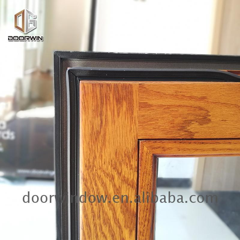 DOORWIN 2021Factory Direct Sales push out casement window reviews outward opening