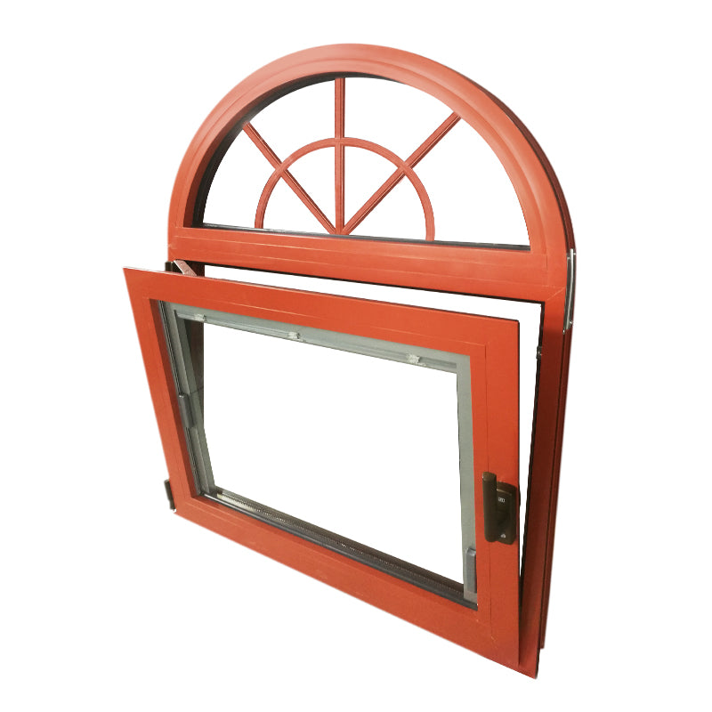Doorwin 2021Factory direct selling round top aluminum window in trinidad and tobago replacement UPVC windows and doors