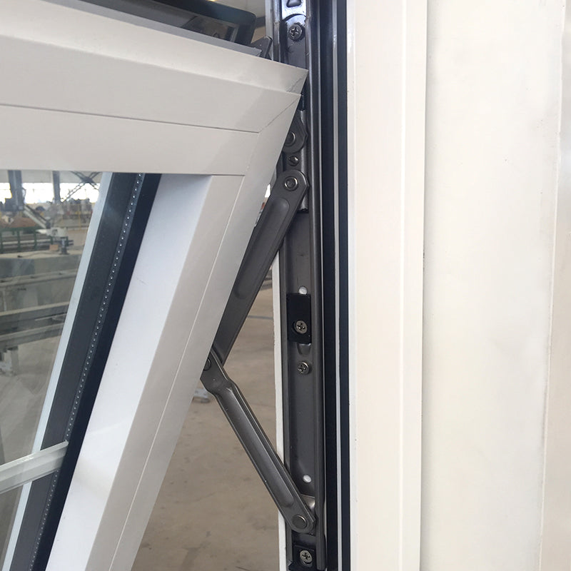 Doorwin 2021New York burglar proof top hung aluminum seamless welding joints technique awning windows