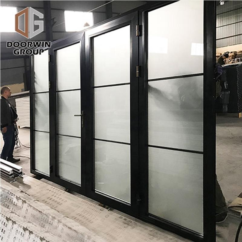 DOORWIN 2021NEW YORK LA commercial thermal break aluminum profile windows and doors by Doorwin