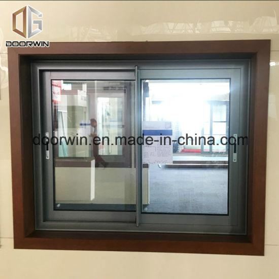 DOORWIN 2021Sliding Glass Window with Flyscreen/Mosquito Nets - China Glass Window, Plastic Window