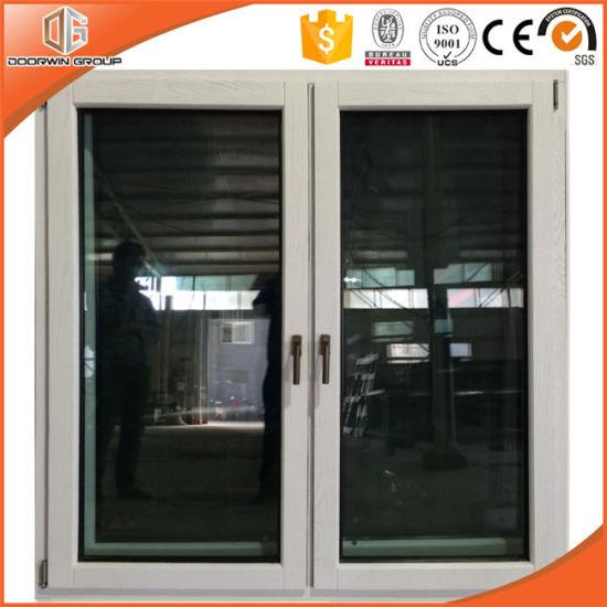 DOORWIN 2021Superior Imported Good Quality Solid Wood Casement Window, Interior Wood with Exterior Aluminum Alloy Window - China Plastic Window, Wood Color Casement Window