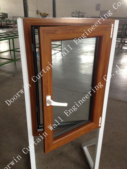 DOORWIN 2021Top Quality UPVC Casement Window with Wood Color Finishing, Good Quality PVC Casement Window for Fabricated/Container House - China UPVC Casement Window, UPVC Window