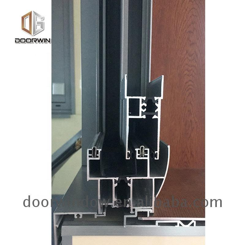 DOORWIN 2021Window screen curtain wall waterproof