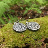 vegvisir earrings