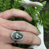 Silver Greenman Ring - Green Man
