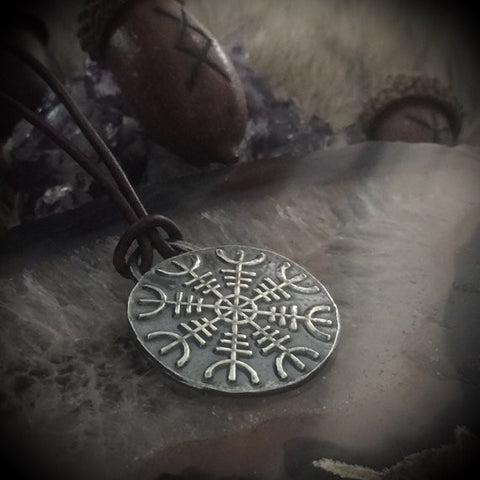 helm of awe pendant