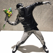 Load image into Gallery viewer, Banksy Flower Bomber Sculpture
