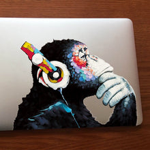 Load image into Gallery viewer, Banksy Graffiti DJ Monkey Headphones Wall Stickers