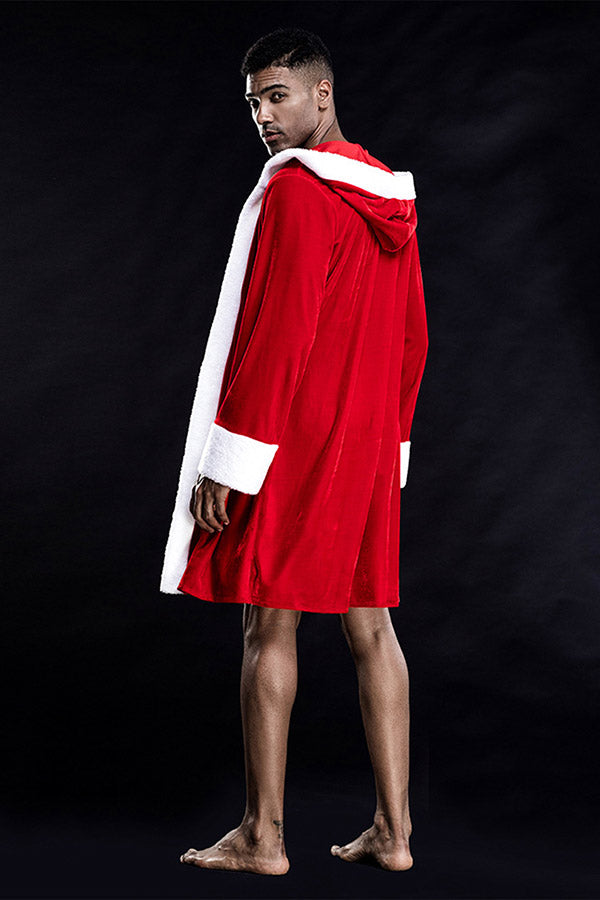 Christmas Holidays Santa Robe For Men