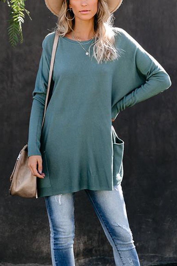 Dolman Sleeve T-Shirt Dresses For Women