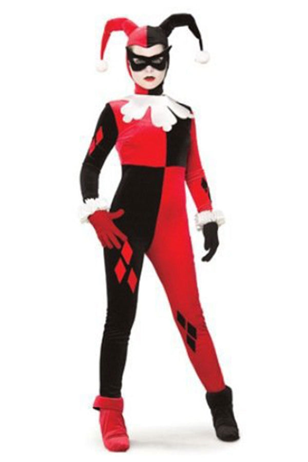 Women's DC Heroes and Villains Collection Harley Quinn Costume