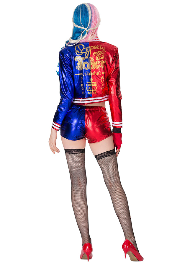 Deluxe Suicide Squad Harley Quinn Costume Red