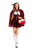 Deluxe Little Red Riding Hood Adult Costume