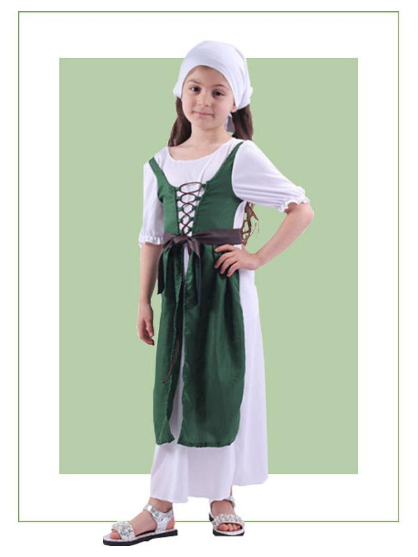 Girls Leprechaun Dress Costume St. Patricks Day