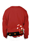 Long Sleeve Muscle Christmas Sweatshirt