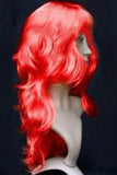 Red Cute Cosplay Ladies Curly Hair Wig
