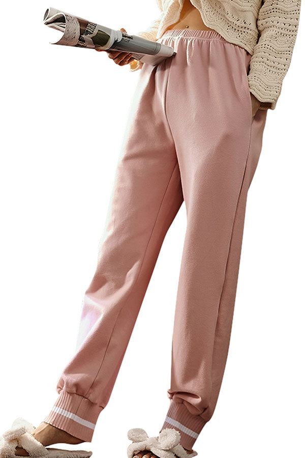 Women's Casual Lounge Pants High Waisted Sweatpants With Pocket