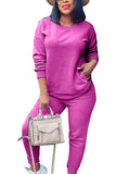 Pullover Tops And Joggers Lounge Sets For Women