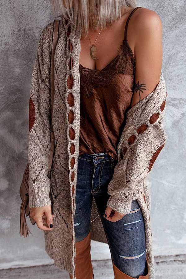 Retro Hooded Cardigan Sweaters For Women