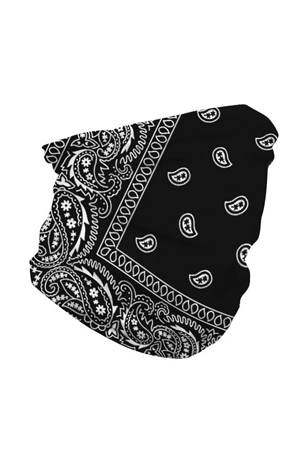 Unisex Paisley Print Bandana Neck Gaiter For Dust Protection