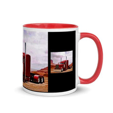 Mug with Color Inside - mrmarksart