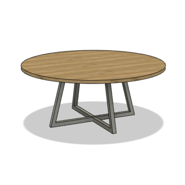 Crown Dining Table (Round)