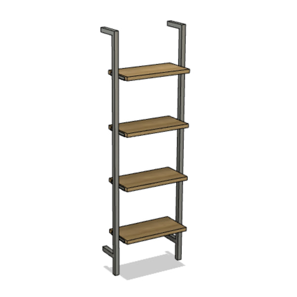 Industrial Rail Shelving