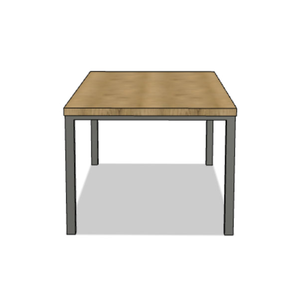 Steel Corner Post Table