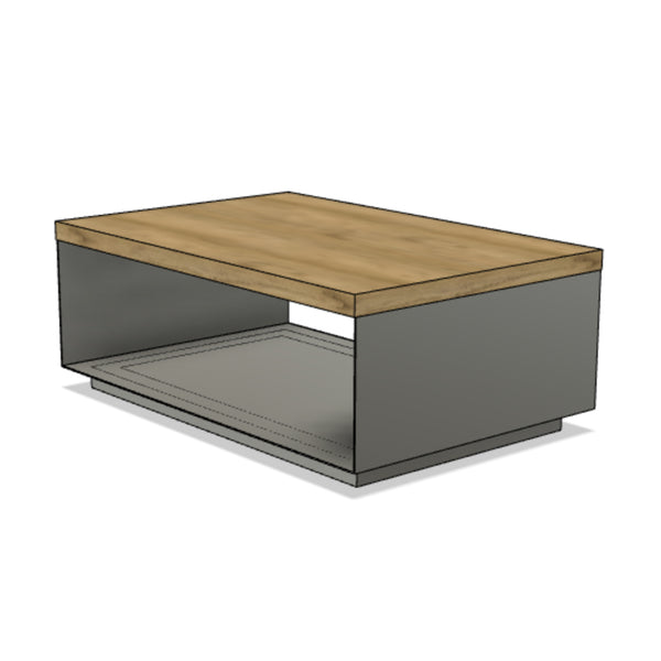 Steel Encased Coffee Table