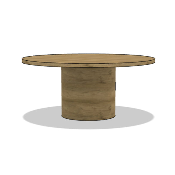 Turned Drum Dining Table (Round)